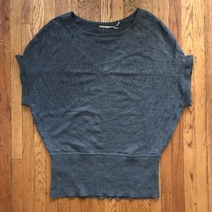 Gray Max Studio Superfine Merino Sweater